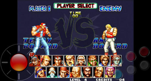 Fatal Fury, a classic SNK Fighting Game