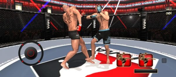MMA Fighting Clash is a fighting game and combat simulator