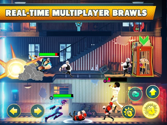 Mayhem combat is a fighting game brawler