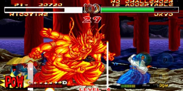 Samurai Showdown II is a classic fighting game
