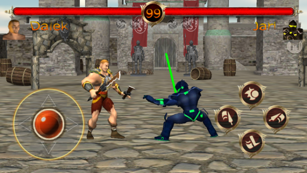 Terra Fighter is another fighting game available for mobile