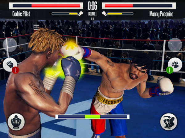 Real Boxing is a boxing fighting game for mobile devices