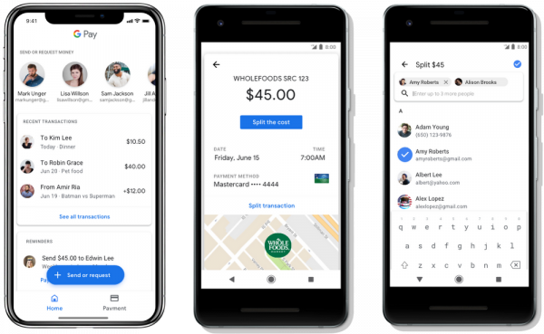 Google Pay Send and Request