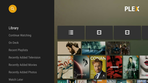 Plex streaming on Android TV