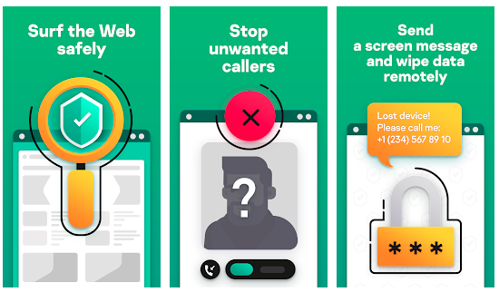 Kaspersky Antivirus on Android Mobiles