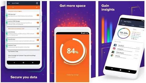Avast Antivirus Applications on Android