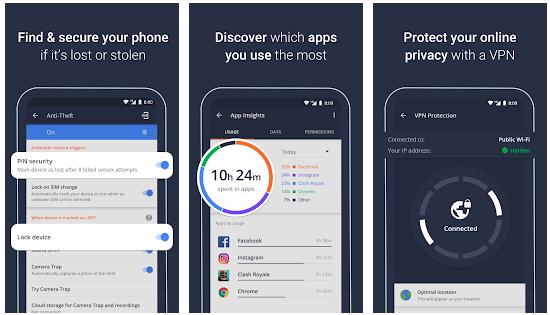 AVG anti virus mobile security