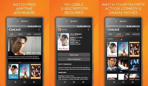 Sony Crackle free movie streaming