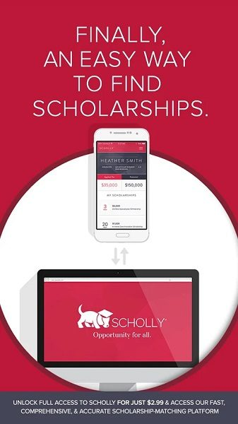 Scholly study app for college