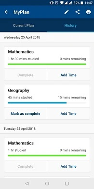 SQA My Study Plan study app for college