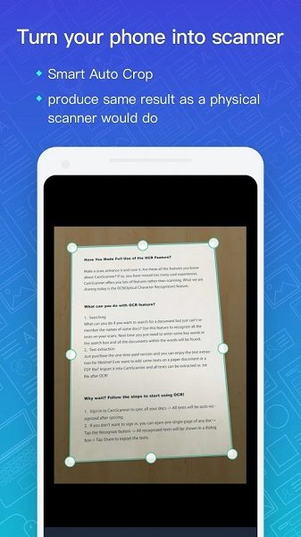 CamScanner study app for college