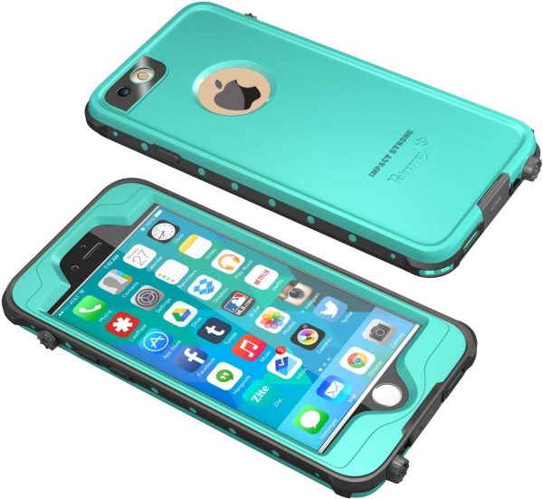 ocean blue impactstrong waterproof case for iphone 6 plus and 6s plus