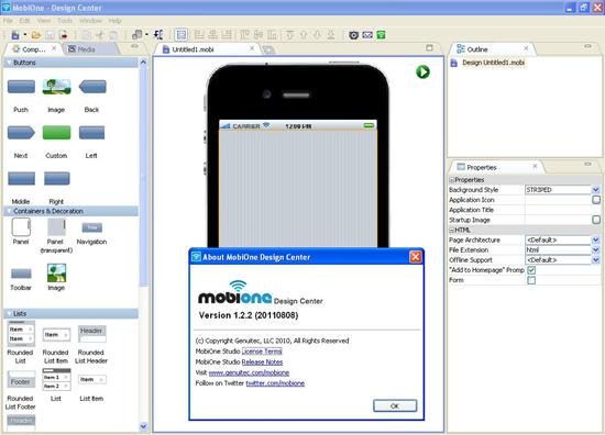iOS Emulator - Mobione