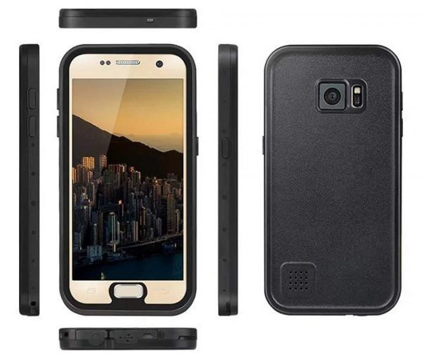 black weksi waterproof case for samsung galaxy s7