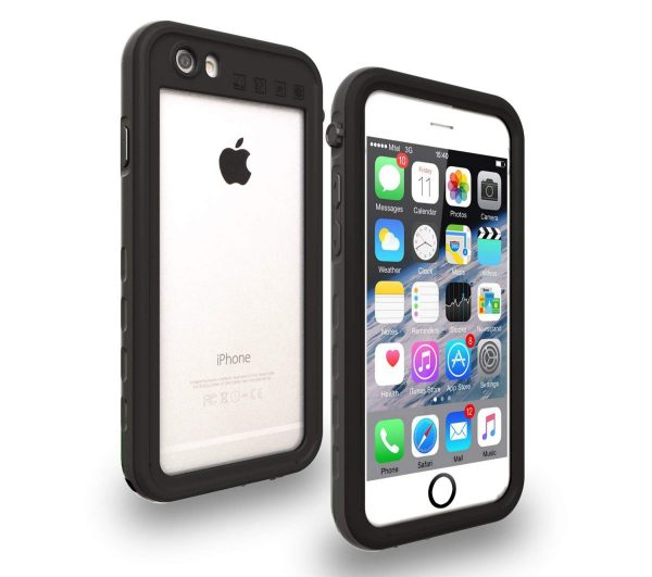 clear yuker waterproof case for iphone 6 and 6s