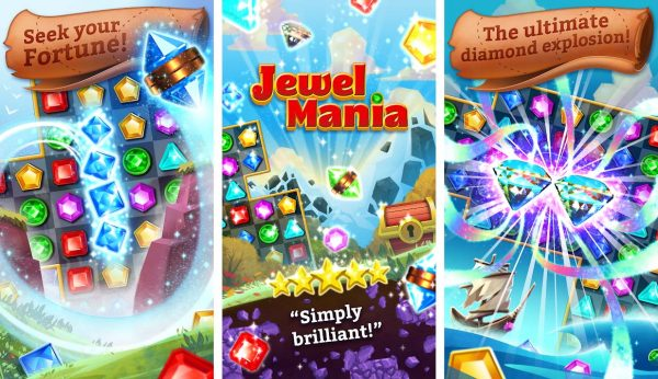 A games like candy crush and go crazy with this match three gem game