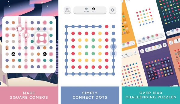 A game like candy crush that trace lines in this complex puzzle game