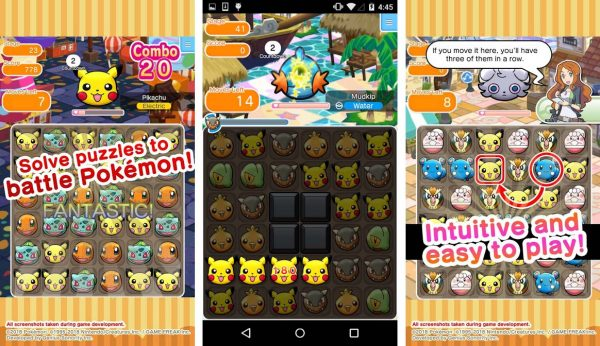 Another game like candy crush that gotta catch 'em all in this fun puzzle game