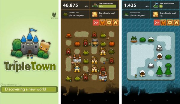 A game like candy crush that build your town and complete levels in this puzzle game