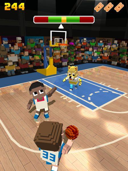 Blocky Basketball Freestyle