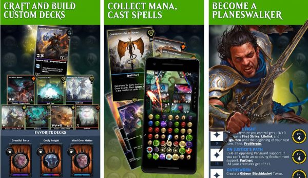 Become a Planeswalker in this RPG puzzle game