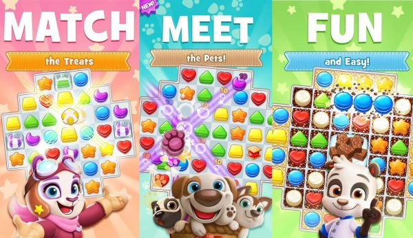 Match identical cookies in this Candy Crush Saga inspired game