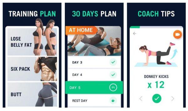 30 days training plan