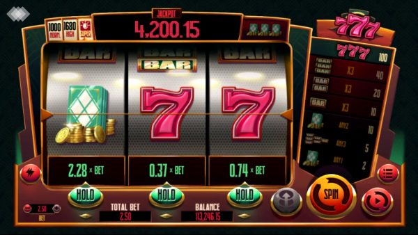 betsoft slot games list