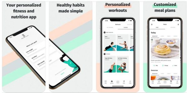 Your personalized nutrition and fitness app