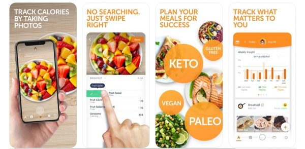 fitness app that track calories by taking photos