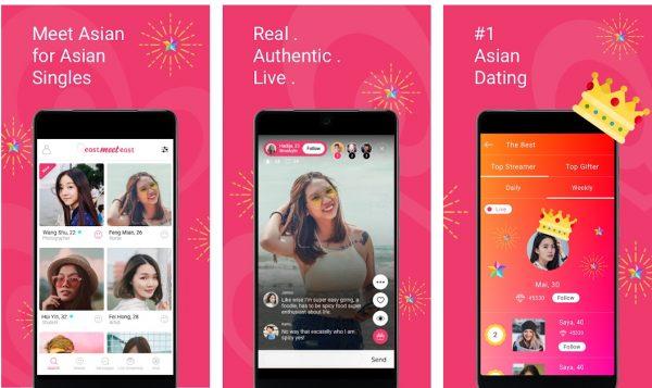EastmeetEast Dating app