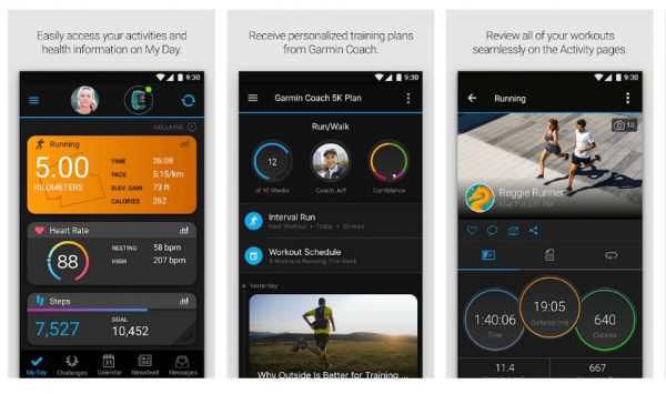 fitness app that easily access activities & health info