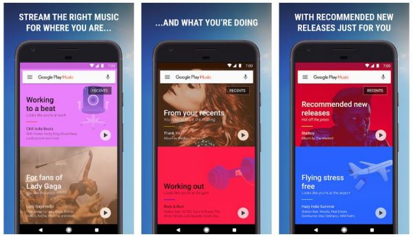 best android music player that can stream the right music for where you are