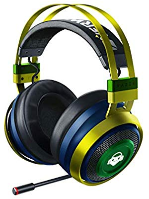 Stylized into Lucio's colors, this Nari Ultimate headset is for Overwatch diehards