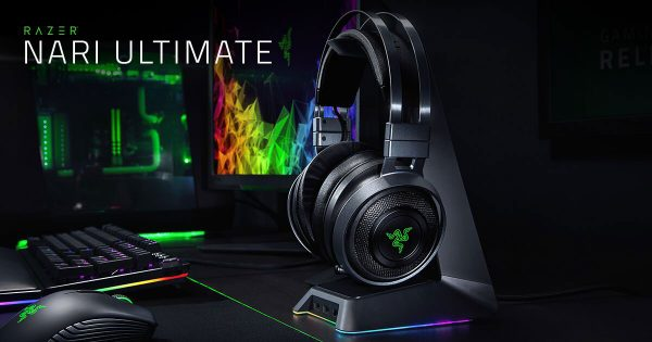 The Nari Razer headset that performs well and sounds good