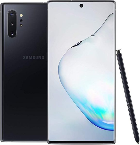 Samsung Galaxy Note 10 Plus with Samsung pen