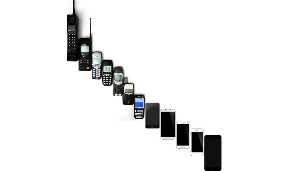 The evolution of mobile phones and cellular data