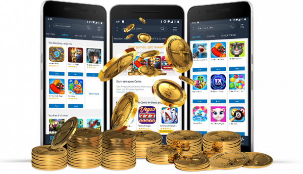 earn amazon coins from us now