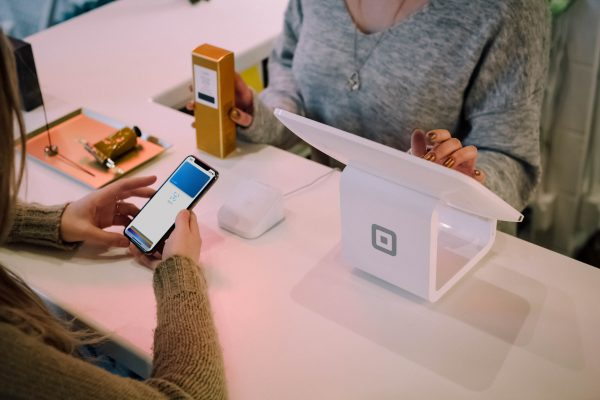 Mobile payment using apple pay
