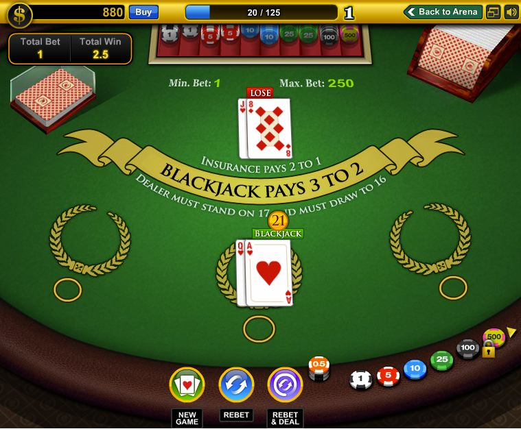 casino blackjack app