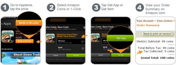 learn how to use amazon coins