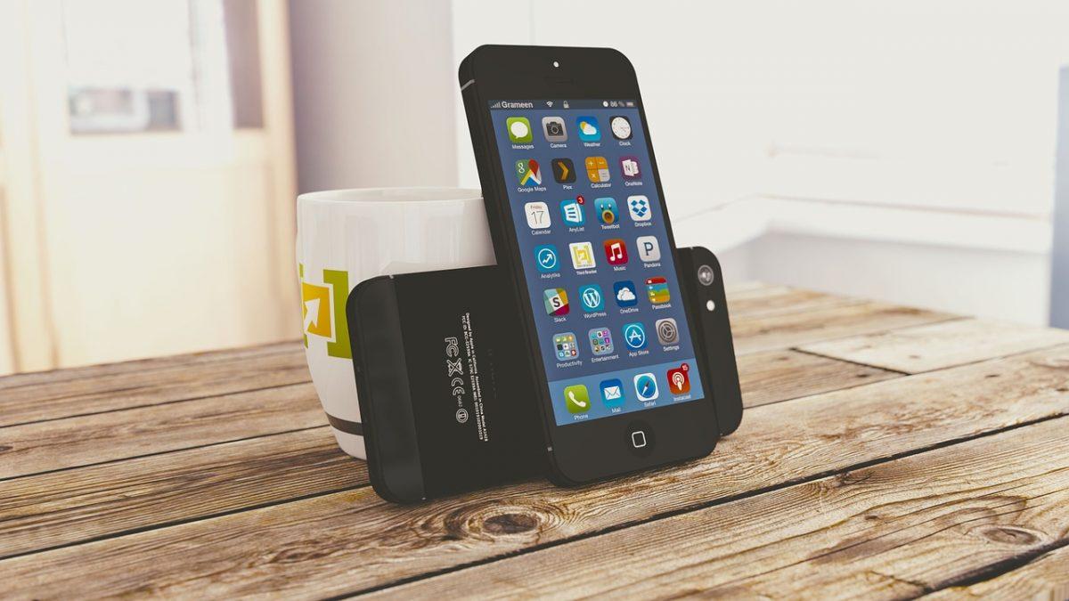 Black iPhone 5