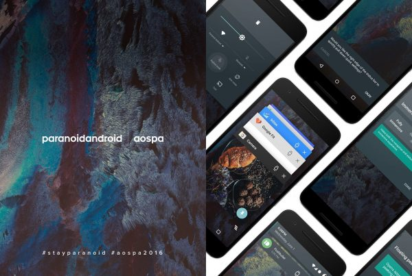 Paranoid Android OS interface
