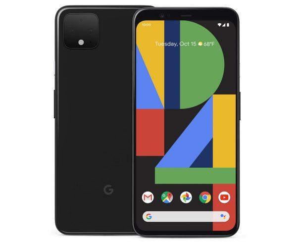 google pixel 4 in black color option