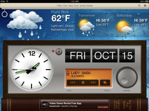 Alarm Clock – Alarm & Weather
