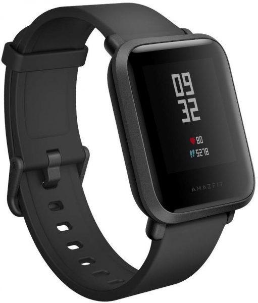 Black Amazfit Bip Smartwatch