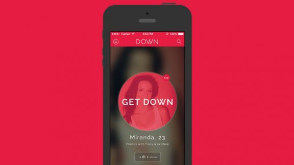 Down is one of the best hookup apps that you can download right now