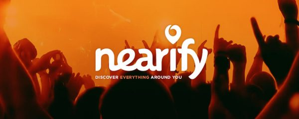 Nearify allows you to see events near your area