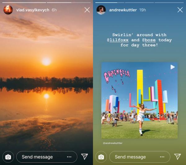 Instagram Stories Links