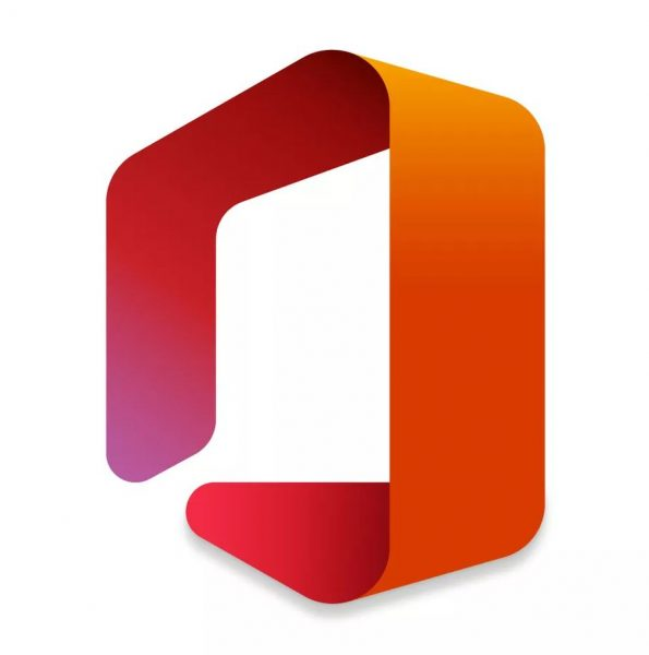 Microsoft Office's new official logo